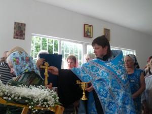 храм иконы Божией Матери Почаевская, престольный праздник 2013 года